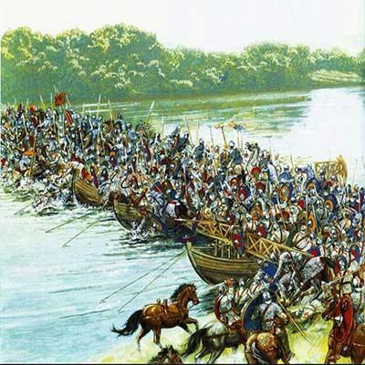 جنگ پل و پیروزی سپاه ساسانی