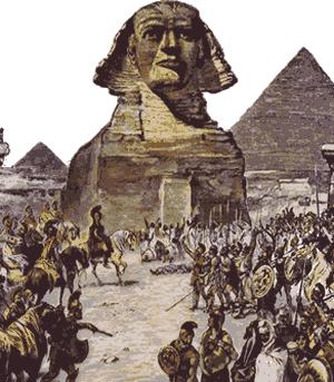 اسکندر در مصر