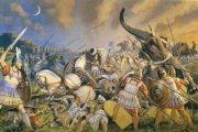 جنگ هوداسپس،اسکندر در برابر هندیان