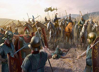 جنگ های ایران و روم