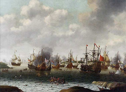 جنگ های هلند و سیلی