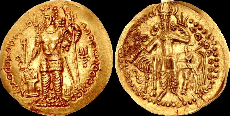 نمونه هایی از سکه هایی با عنوان کوشانی ساسانی هستند.