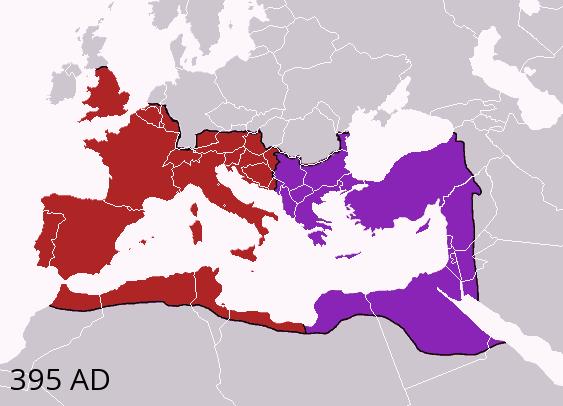 سقوط امپراتوری روم غربی
