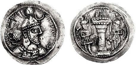 سکه یزدگرد ی اول
